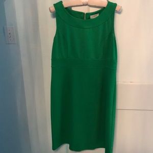 Ann Taylor kelly green dress
